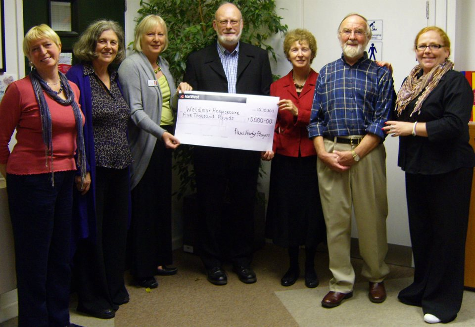 Donation to Waldemar Hospice in 2011
